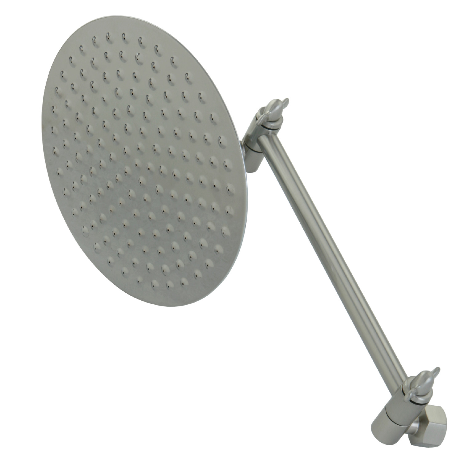 Elements Of Design Dk13628 Shower Head With Adjustable Shower Arm Brushed Nickel