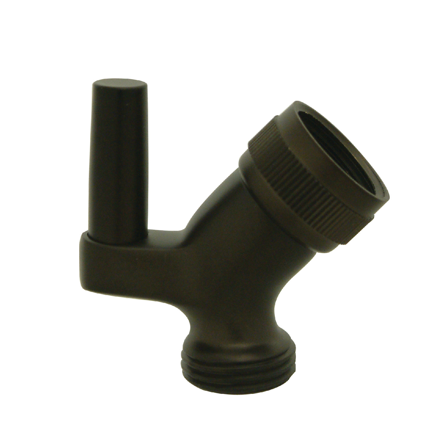 Elements Of Design Dk179a5 Handheld Shower Pin Wall Hook With Hose Outlet Oil Rubbed Bronze