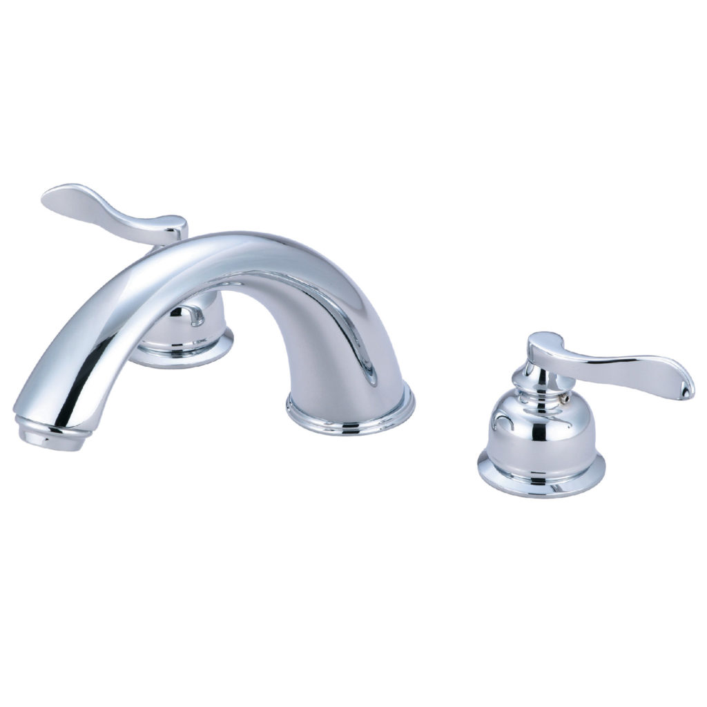 12 Elements of Design EB368 Roman Tub Filler With Spout Brushed Nickel