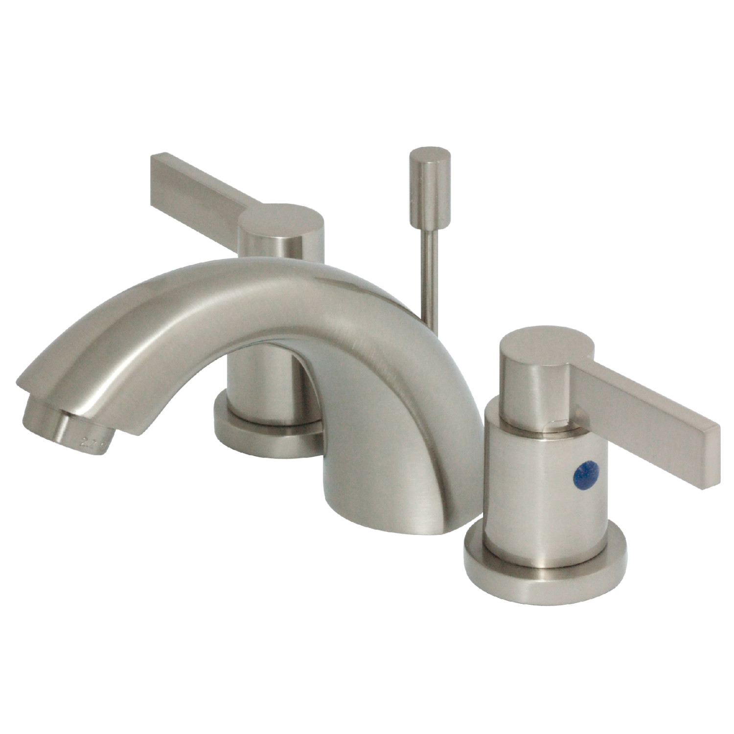 Brilliant Elements Of Design Eb8958Ndl Mini Widespread Lavatory Faucet Brushed Nickel Home Interior And Landscaping Transignezvosmurscom