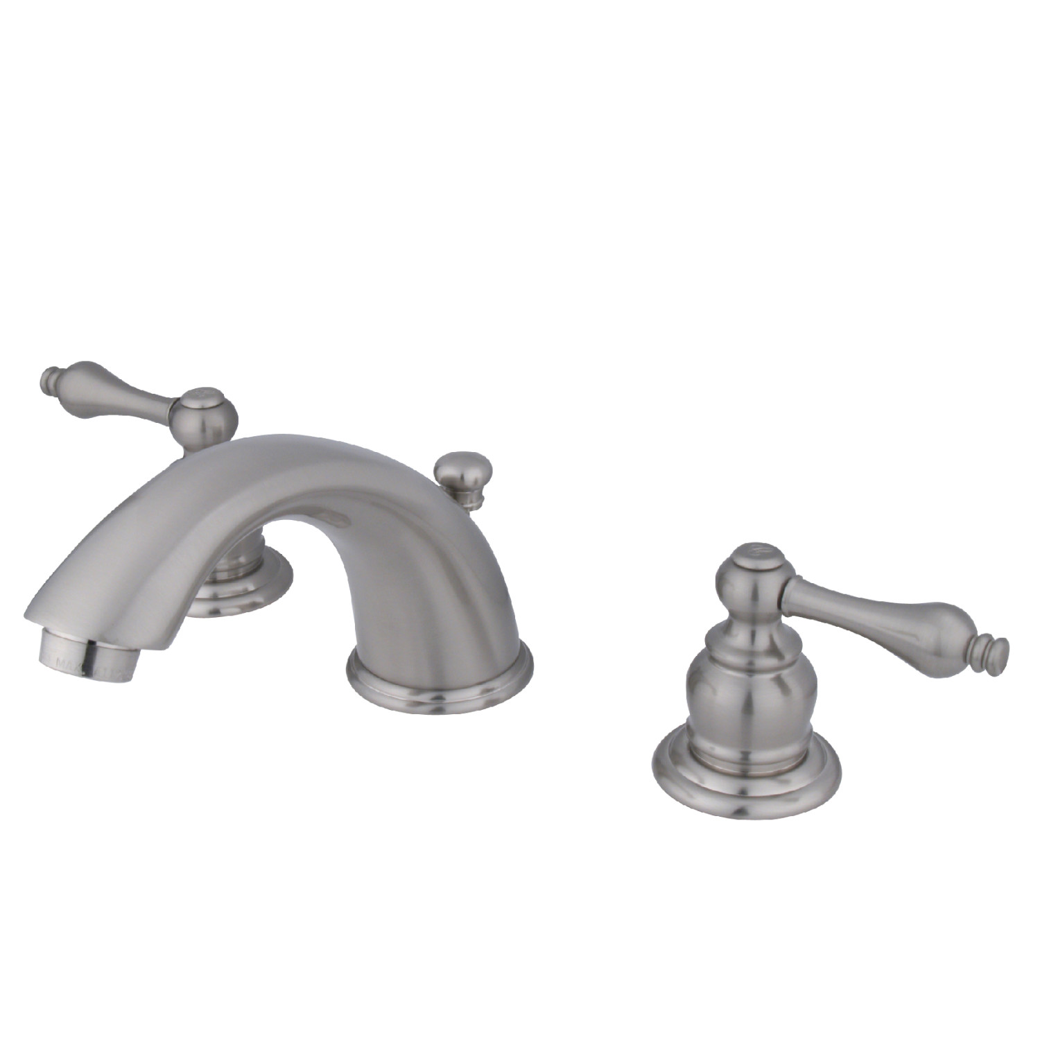 Elements of design eb978al 8 inch widespread lavatory - 8 inch brushed nickel bathroom faucet ...