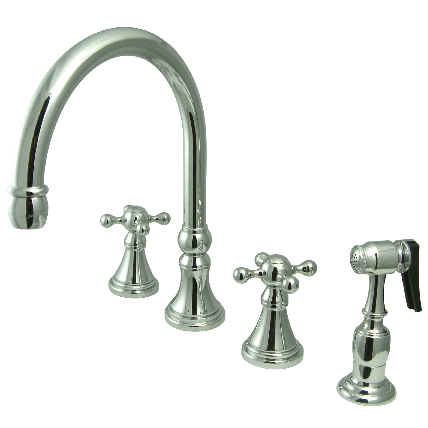 Elements Of Design Es2791kxbs 8 Inch Widespread Kitchen Faucet With