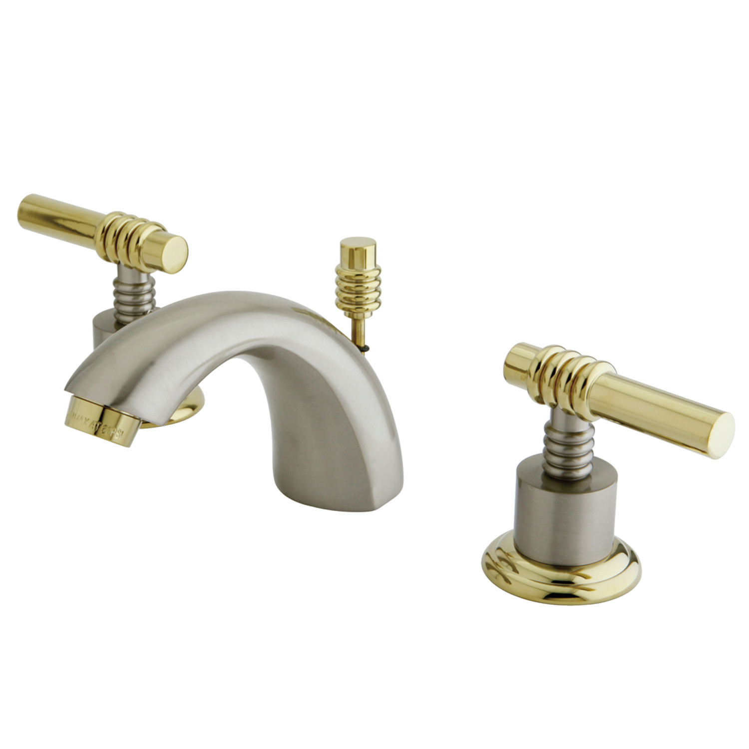 Groovy Elements Of Design Es2959Ml Mini Widespread Lavatory Faucet Brushed Nickel Polished Brass Home Interior And Landscaping Transignezvosmurscom
