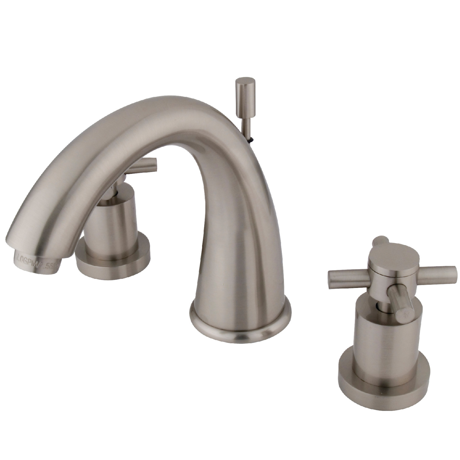 Elements Of Design Es2968dx 8 Inch Widespread Lavatory Faucet With Brass Pop Up